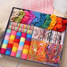 hair, colorfulhairband, velvet, Barrettes