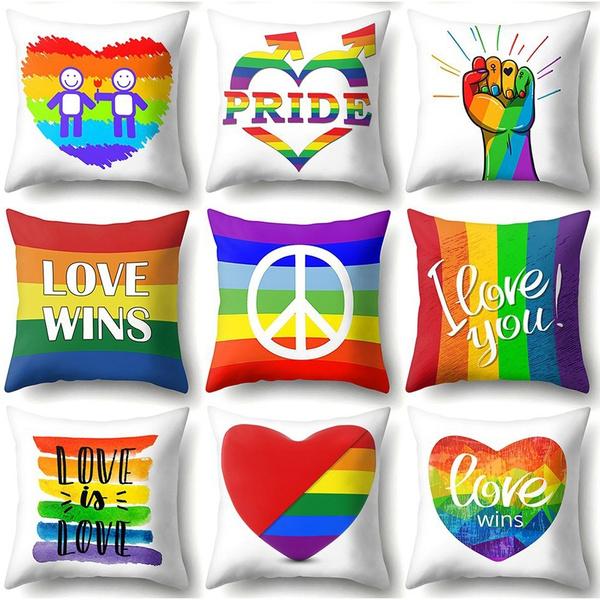 lgbtpride, Home Decor, Sheets & Pillowcases, Home & Living