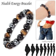 Beaded Bracelets, hematitebracelet, eye, Jewelry