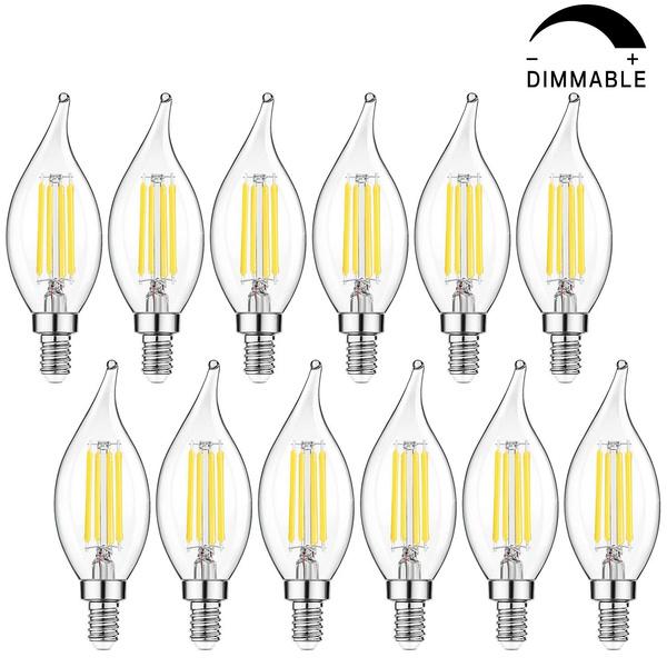 Chandelier, led, ledchandelierlightbulb, e12candelabra