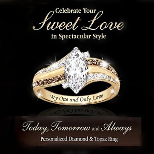 18 k, DIAMOND, Love, wedding ring