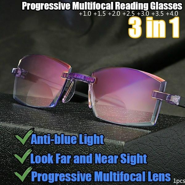 Blues, bifocal, presbyopia, lights