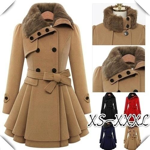 Elegant, Plus Size, fur, Winter