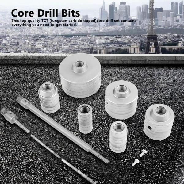 drillingholestool, coredrillsset, concreteholecutter, tct