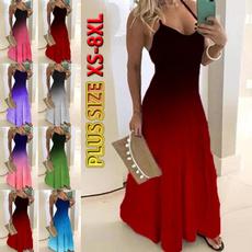 Summer, Fashion, print dress, plus size dress