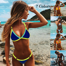 Summer, Fashion, bikini set, Thong