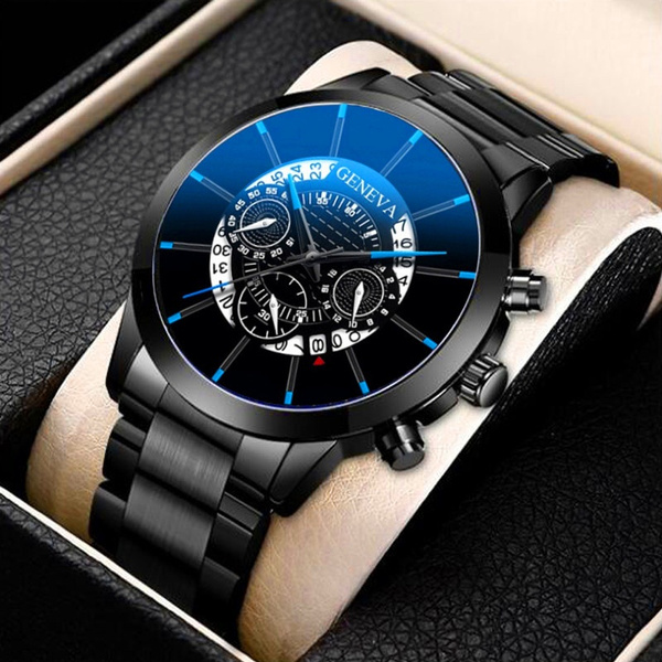 quartz, Casual Watches, business watch, Stainless Steel