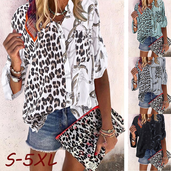 Plus Size, Shirt, Sleeve, Women Blouse