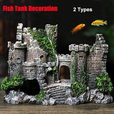 fishtankcastledecoration, aquariumsaccessory, Tank, fishsupply