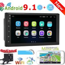 Touch Screen, carstereo, rádiodocarro, Gps