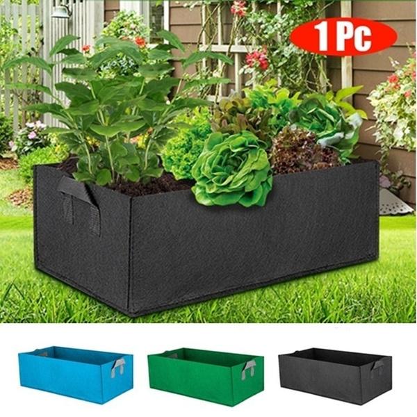 Box, gardenbed, Plants, plantbag