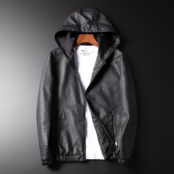 Pocket, Overcoat, koreanversion, PU
