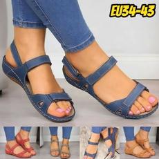Summer, Sandals, Spring Shoe, Vintage