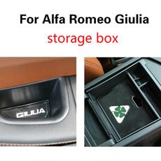 Box, armrestbox, alfaromeo, leaf