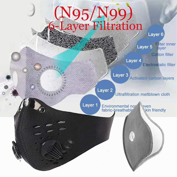 n95dustfacemask, Sport, filtermask, Cycling