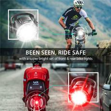 Flashlight, Bicycle, LED Headlights, Night Light
