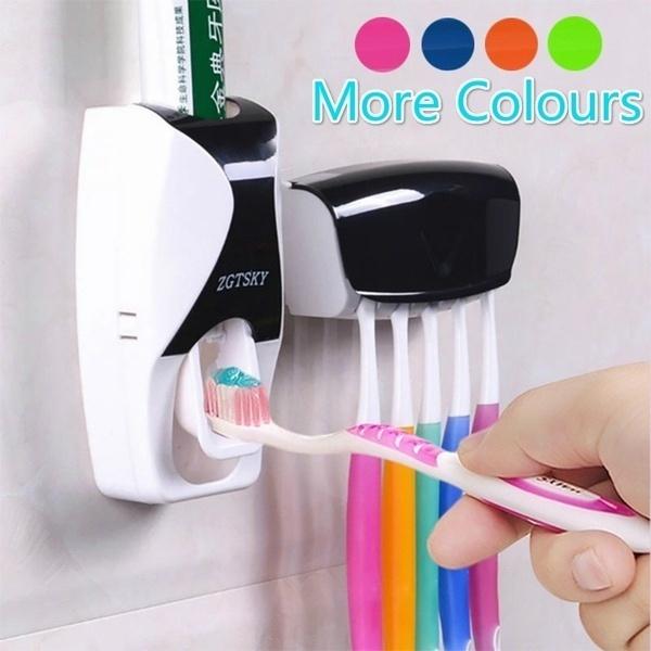 bathroomorganizer, Bathroom, toothpastesqueezer, magneticsuspensioncup