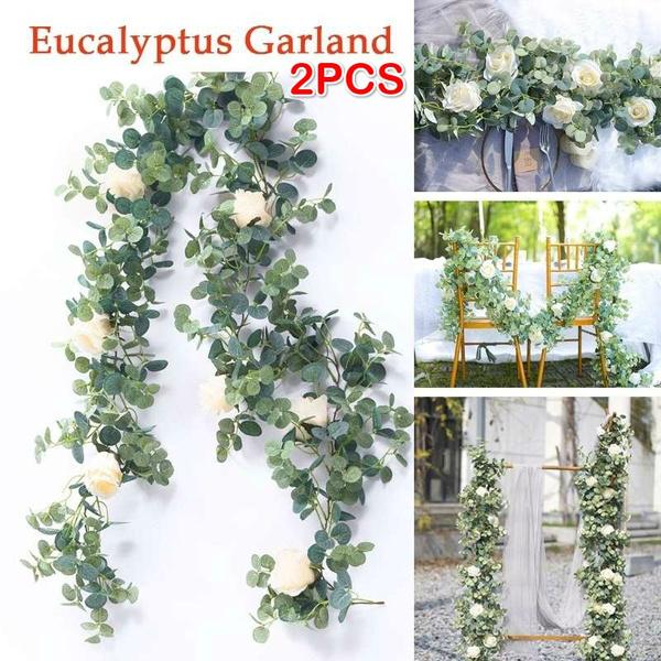 eucalyptusgarland, Decor, champagne, wisteriagarland