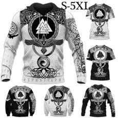 viking, warrior, Fashion, Shirt