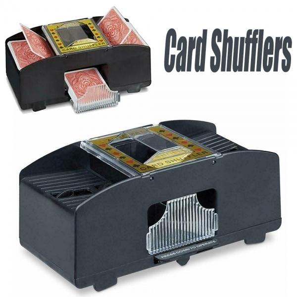 automaticcardsshuffler, Electric, cardsshuffler, Battery