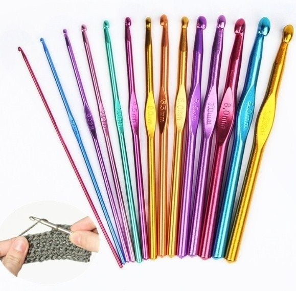 Knitting, Aluminum, knittingneedle, needlescrochethook
