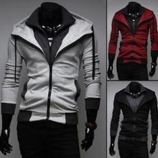 Men, cardigan, Long Sleeve, Coat
