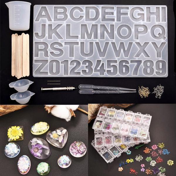 resinjewelrybase, openbezelpendant, Flowers, Key Chain