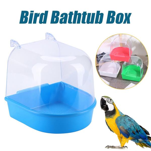 Box, water, hangingcage, birdwash