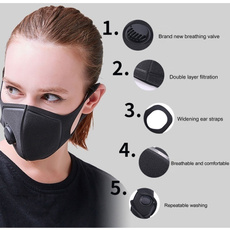 antipollutionmaskpm25, Outdoor, maskdustrespirator, breathablevalvemask