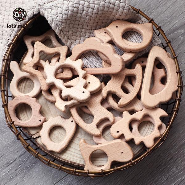 Wood, Toy, teethersforbabie, sweetoothteether