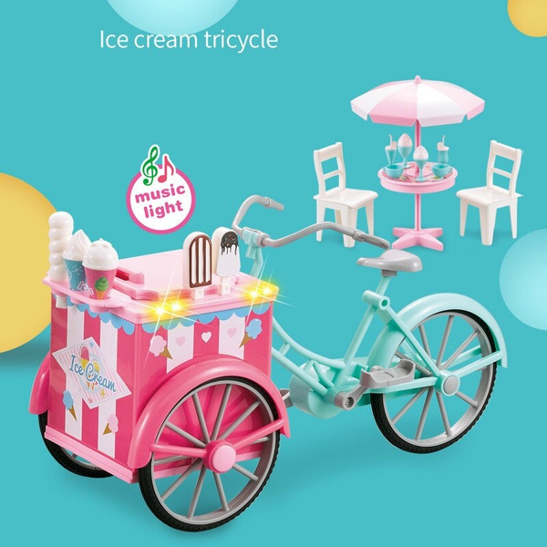 Mini, Toy, tricycle, Food