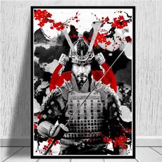 Arte para la pared, Decoración de hogar, Pósters, shogun
