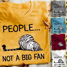 Summer, Plus Size, Sleeve, Funny