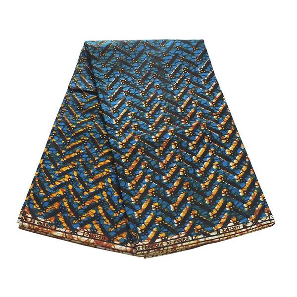 Blues, Cotton fabric, dutchwax, Dress