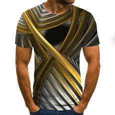 tshirt3d, Fashion, mens3dprinttee, Sleeve