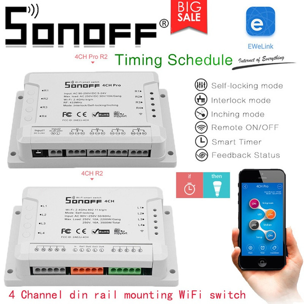 smartswitch, sonoffwifiswitch, wifiswitch, sonoff4ch