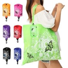 butterfly, waterproof bag, Flowers, Capacity