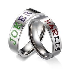 Steel, Joker, Love, wedding ring