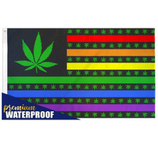 rainbow, Polyester, Outdoor, leaf