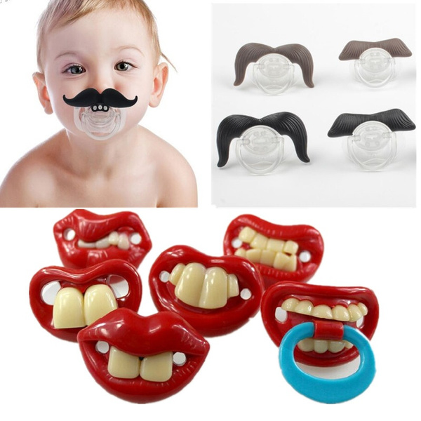 orthodonticnipple, Funny, babypacifier, Silicone