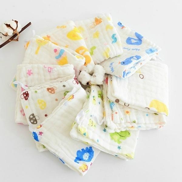 Cotton, cottonslobber, Towels, babysupplie