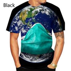 Mens T Shirt, Short Sleeve T-Shirt, 3dprintedtshirt, summer t-shirts