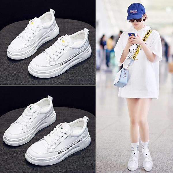Korean Style Trendy Wild White Shoes