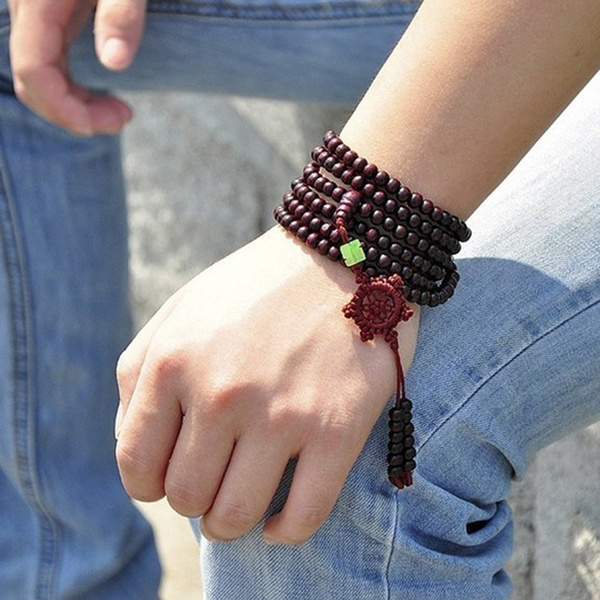 sandalwoodbracelet, Beaded Bracelets, prayerbracelet, Wristbands