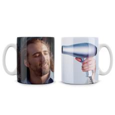 meme, tea cup, Кава, hair