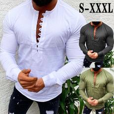 men shirt, Plus Size, Shirt, Sleeve