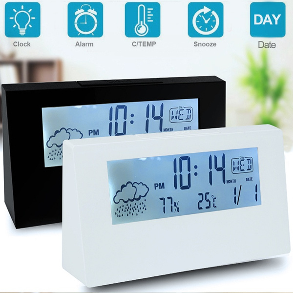 Mini, electronicclock, led, thermometerclock