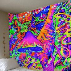 Decor, hippie, Mushroom, abstractmushroom