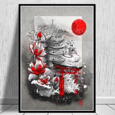 Arte para la pared, Decoración de hogar, Pósters, Japanese