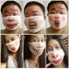 Funny, mouthmask, mouthmuffledustmask, Sports & Outdoors